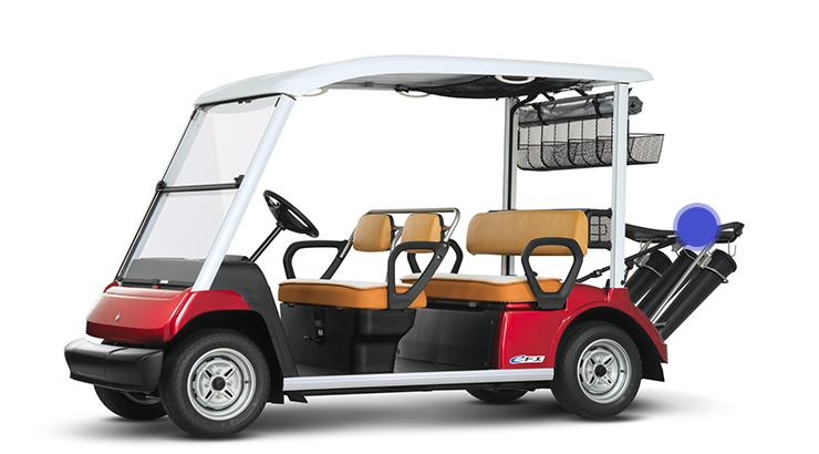 事例①:ゴルフカート部材