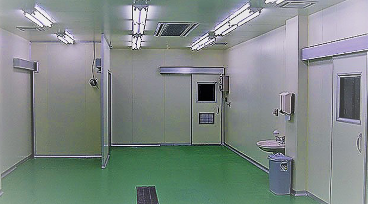 事例⑥:クリーンルームパネル枠材
