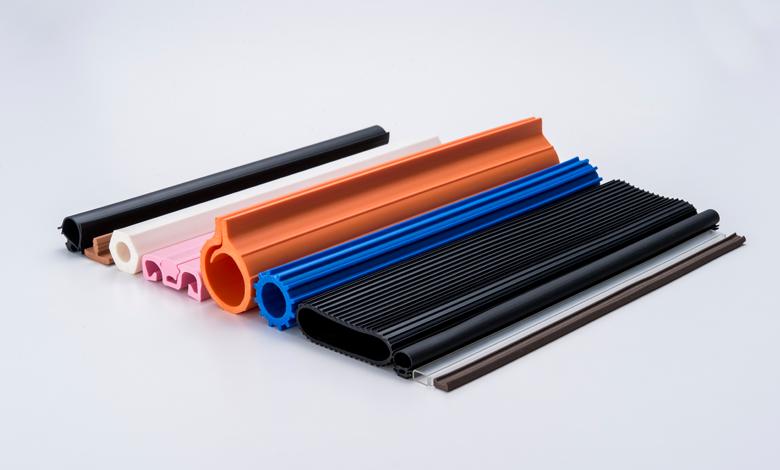 写真:PVC軟質(塩ビ)、TPO、TPS、TPU、EVA、PMMA(軟質アクリル)